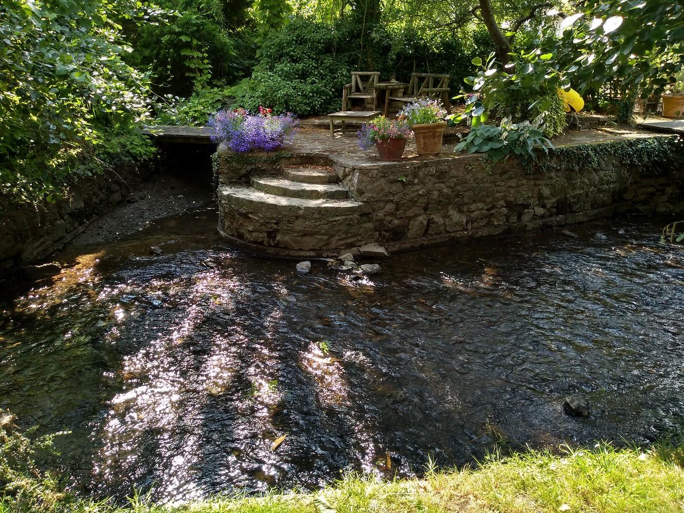 River Darent and Garden