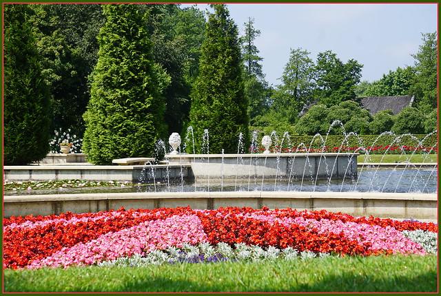 Schlosspark Arcen ...