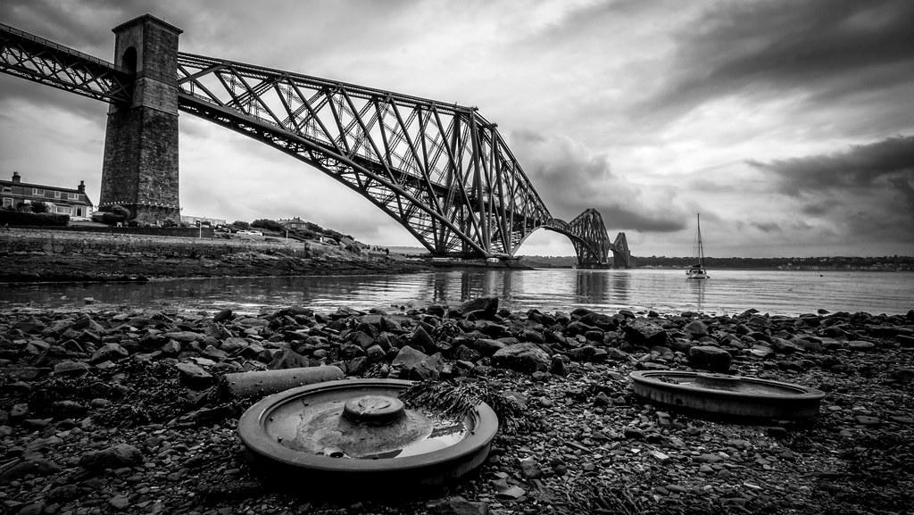 Forth Bridge Relics   Forth Rail Bridge from North ...