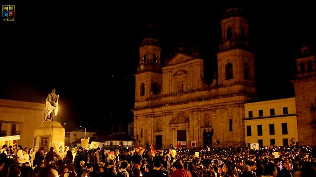 Velaton por los líderes asesinados en Colombia