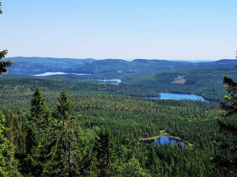 11-Utsikt mot Glitre fra Snaukollen