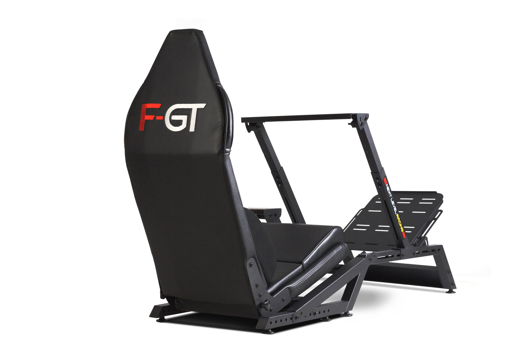 Next Level Racing F-GT Matte Black Simulator Cockpit 9