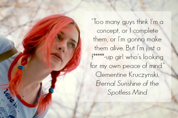 celebrity quotes : Eternal Sunshine of the Spotless Mind I ...