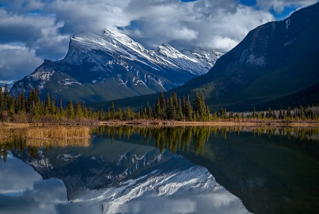 Mt Rundle of Banff