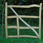 Cleft Rustic Gate
