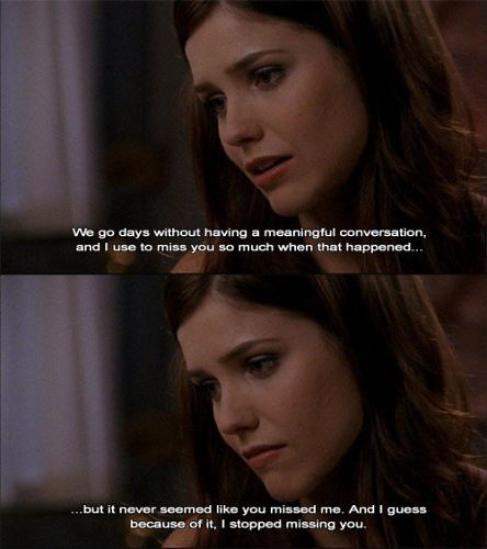 Distance Quotes :one of the best one tree hill scenes | Flickr