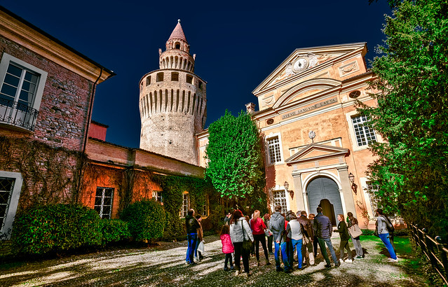 Entrance to Rivalta Castle