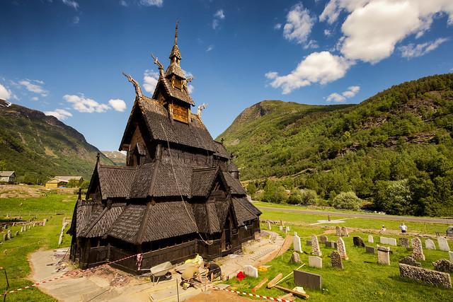Borgund Stave Church @ Norway 2018