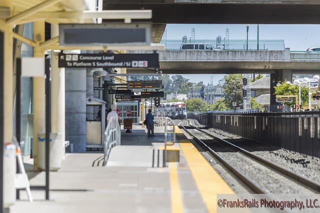 Loaded Caltrains