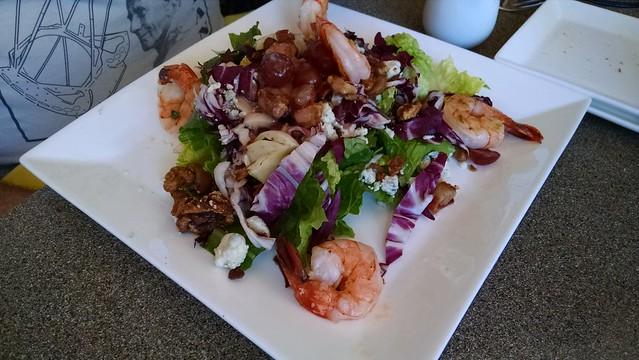 IMG_20160617_134620376 Fess Parker Vineyard salad w shrimp