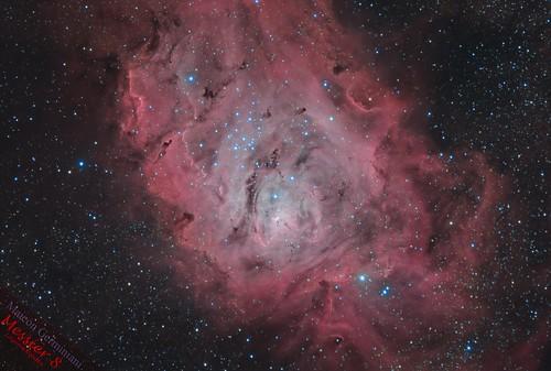 Lagoon Nebula   by maicongerminiani