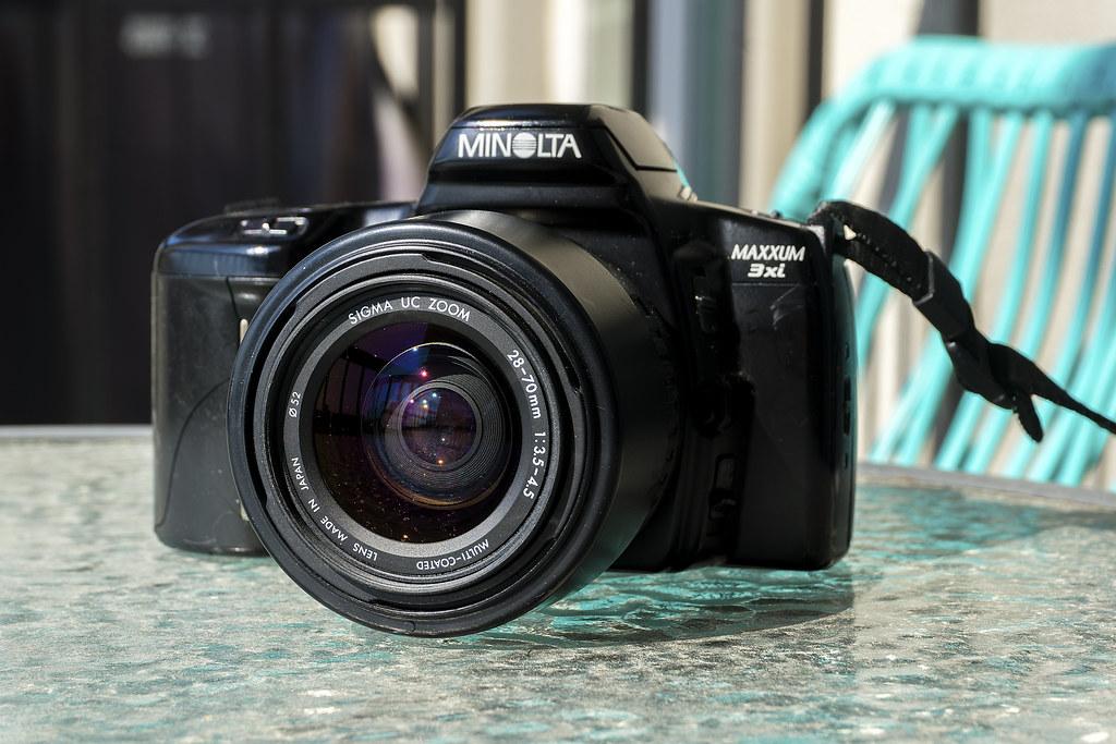 Camera Review Blog No. 96 - Minolta Maxxum 3xi