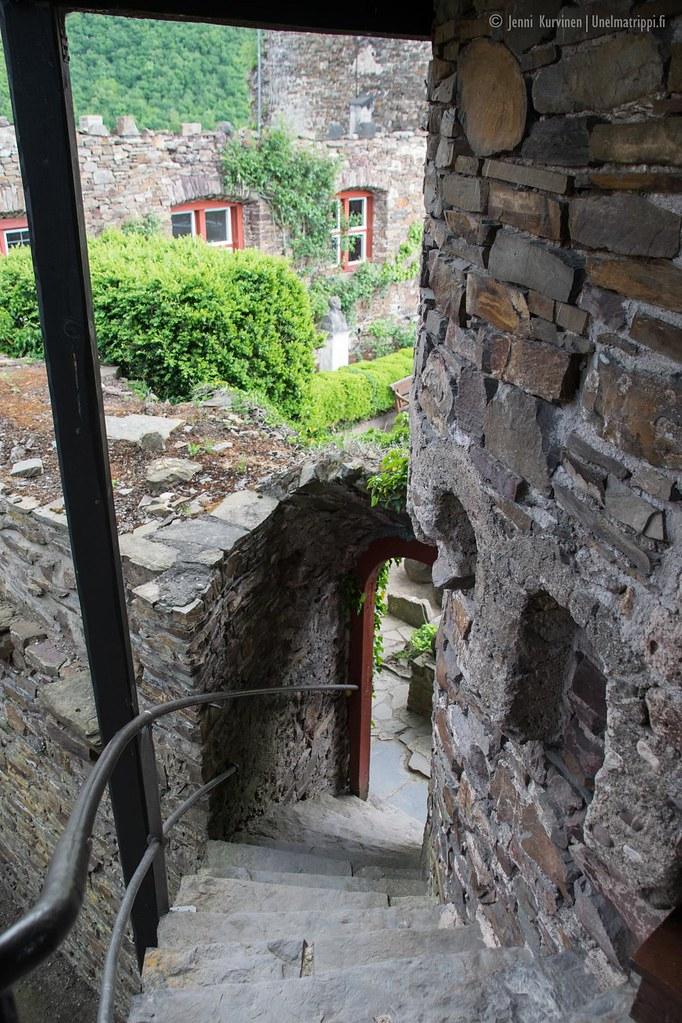 Thurantin linnaa saa kierrellä omin päin ilman opasta