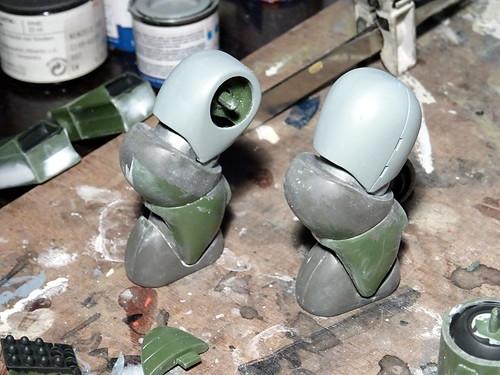 "Dorvack +++ 1:24 PAM-74 ""Tinkle Bell"" powered armor suit (Aoshima kit) - WiP | by dizzyfugu"