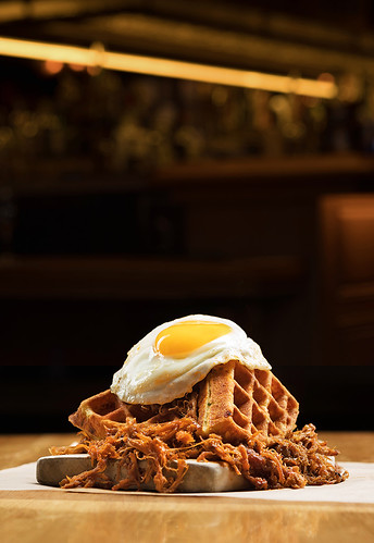 Pulled Pork and Waffles - Anthony Mair | by amairphoto