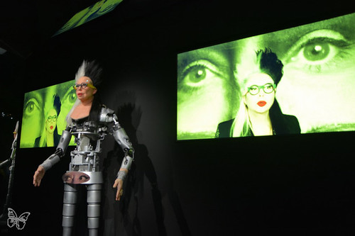 Artists & Robots - Orlan   by Butterfly Art News