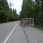 Glacier Park Entrance