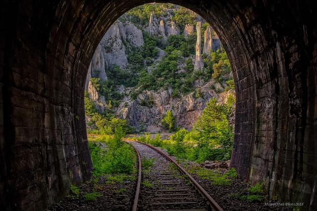 Vela Draga iz južnoga tunela