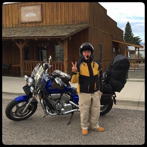 motorcycleroadtrip honda magna hondamagna challis id