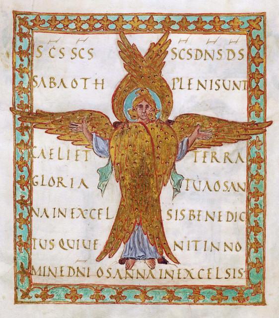 Beautiful Seraphim [~850 AD]