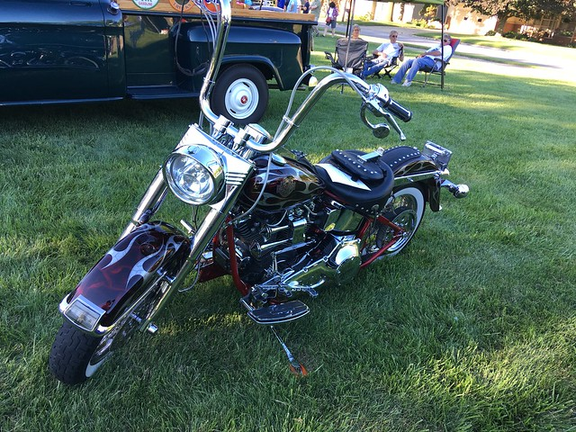 1998 Harley Davidson soft tail motorcycle