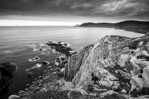 achillisland ireland mayo countymayo ie wildatlanticway sunset cliff longexposure