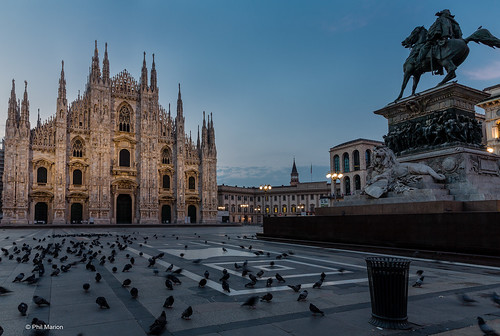 Duomo before sunrise  - Milan | by Phil Marion (176 million views - THANKS)
