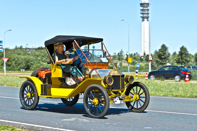 Ford Model T Runabout 1914 (4069)