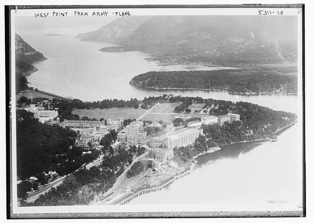 West Point from Army Plane (LOC)
