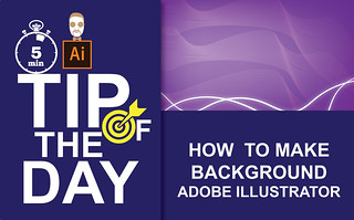 How to Create a Background in Adobe Illustrator   Tip of the Day