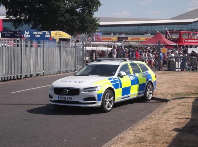 Northamptonshire Police Volvo V90 (KU18 YFH)