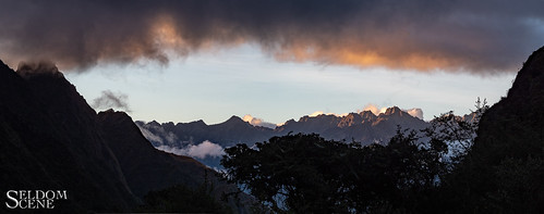 incatrail incatrailday2 peru urubambamountainrange panorama sunset cuzco pe