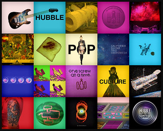 Highlights of entries to the Hubble Pop Culture competition | by SouthCoast_TV