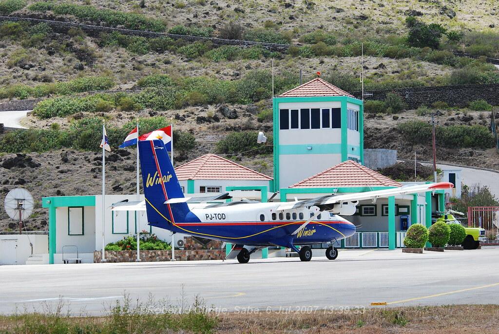 Windward Islands Airways, PJ-TOD, DH-6-300, TNCS, 06JUL2007