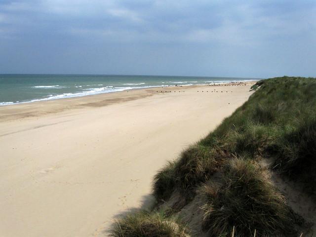 The beach near Waxham, Norfolk