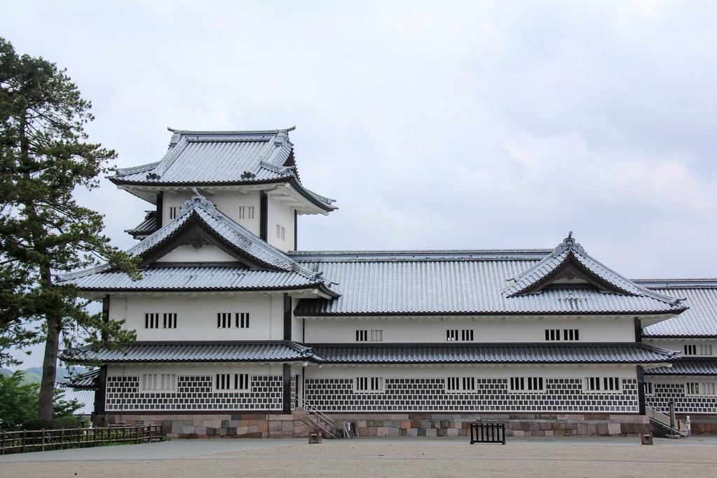Kanazawa Castle Park, Japan 金沢城公园、日本