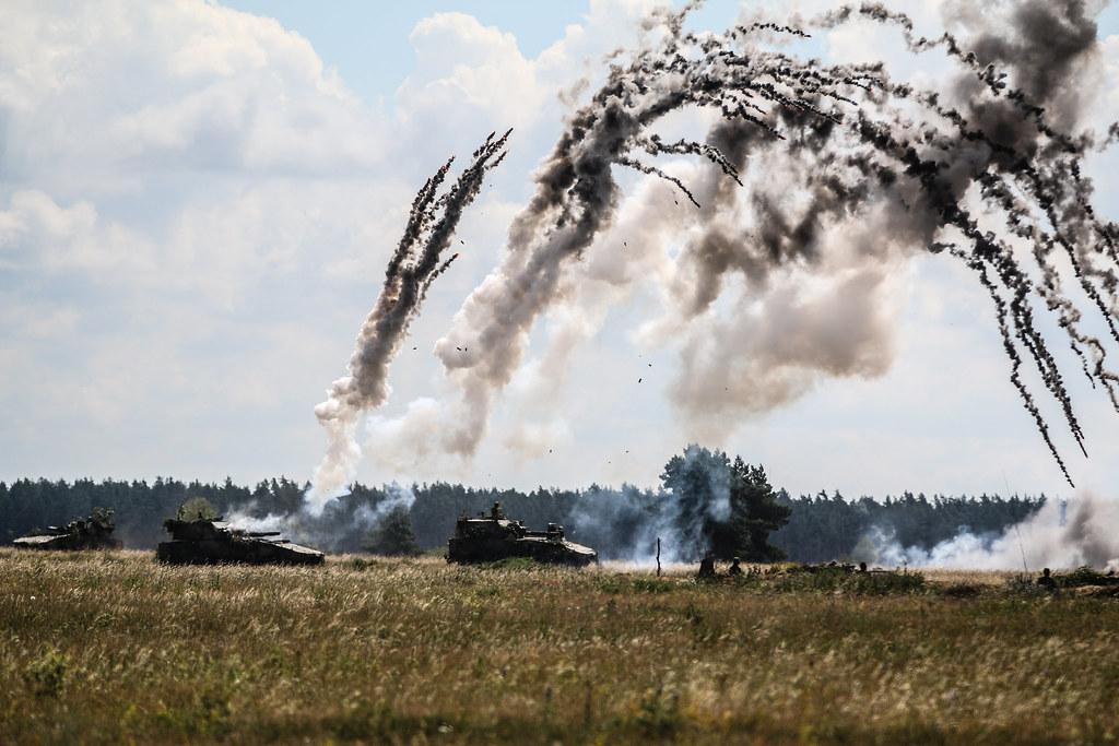 exercise Puma 2 with Battle Group Poland