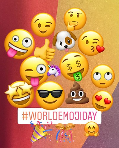 What was life before emojis? �� A much more dull place for sure! Which one is your favorite? Happy #WorldEmojiDay �� #loveemojis #sayitwithemojis