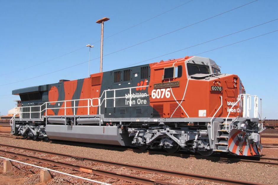 BHP Billiton Rail GE AC6000CW 6076  | paulo vieira | Flickr
