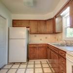 Pleasant kitchen space.