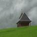 Alpské kopce zdobí kostelíky, foto: Petr Nejedlý