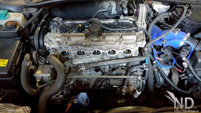 Volvo S80 2.4T PCV Repair