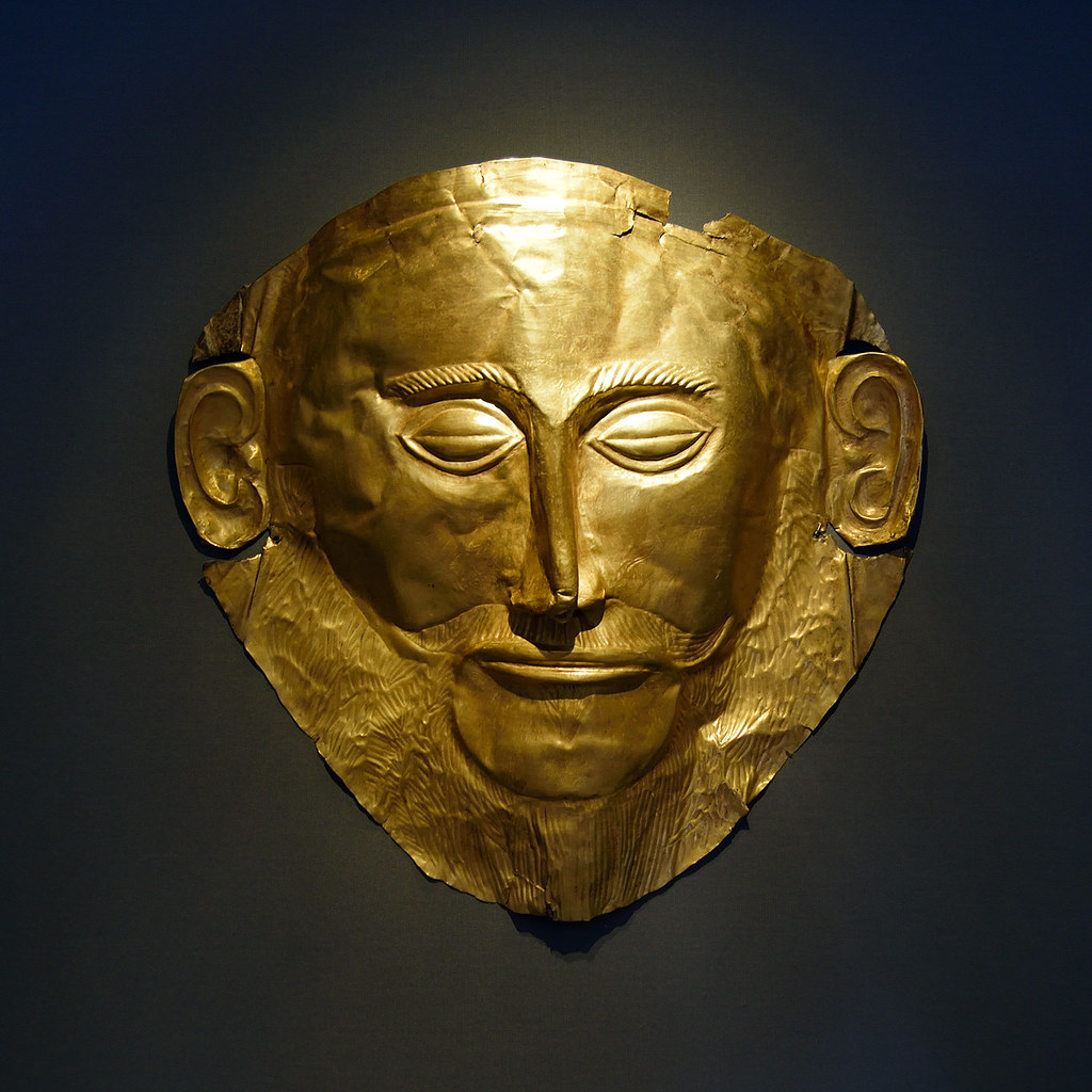 Mask of Agamemnon | The Golden...