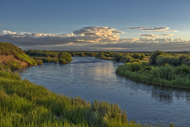 Floating the Teton River at Sunrise