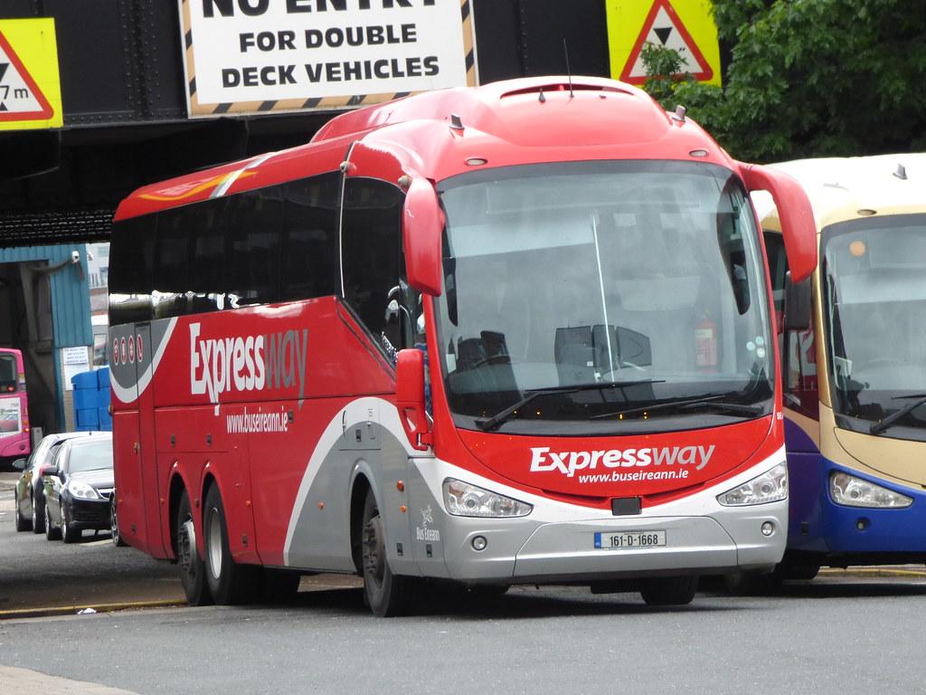 Bus Eireann | Bus Eireann Scania Irizar i6 SE 48 Reg 161-D-1… | Flickr