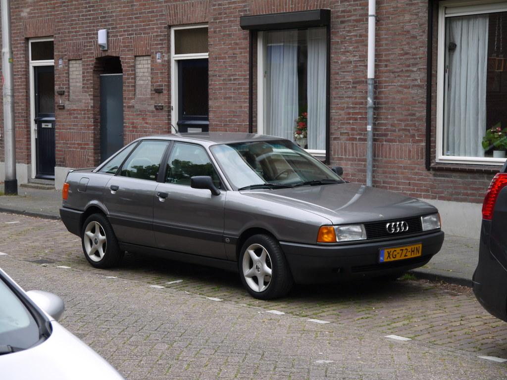 Audi 80 2.0E 1989   Datum eerste toelating: 21-04-1989   Eelco   Flickr