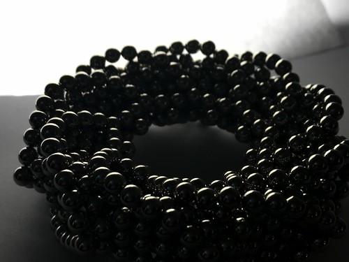 Spiraling Nonagon Ring