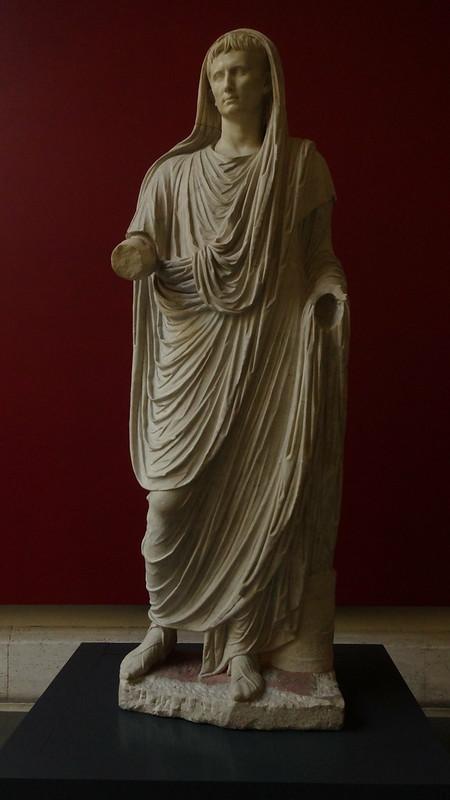Augusto como Pontífice Máximo