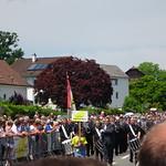 Marschmusik am kant. Musiktag in Eschenbach