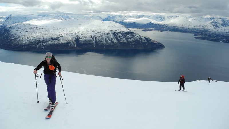Lyngen. Lyngen is perhaps Norway's most famous mountain range.  Weather on the coast is often clearer than inland
